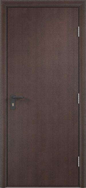 Противопожарная дверь ДПГ огнеупорное (Экошпон) венге
