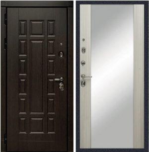Входная дверь с зеркалом МД 38