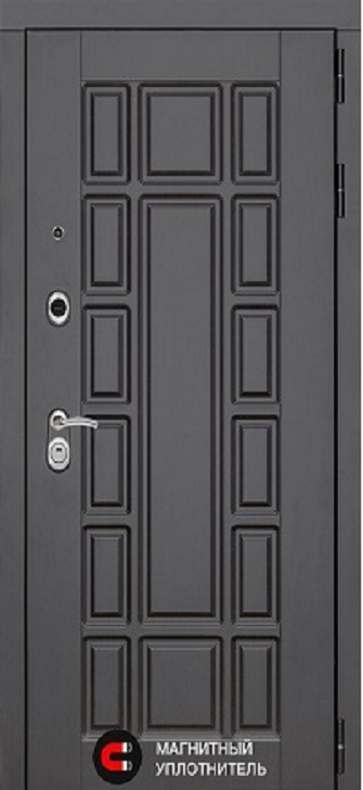 Входная дверь SCANDI Дарк грей