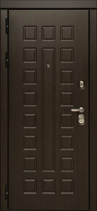 Входная дверь с зеркалом МД 30