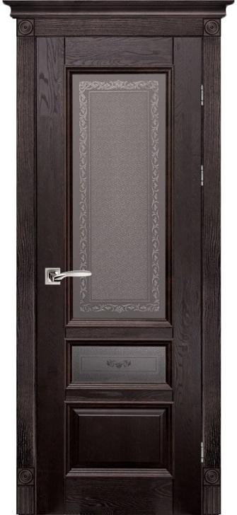 Дверь-массив-дуба-Аристократ-№3-венге
