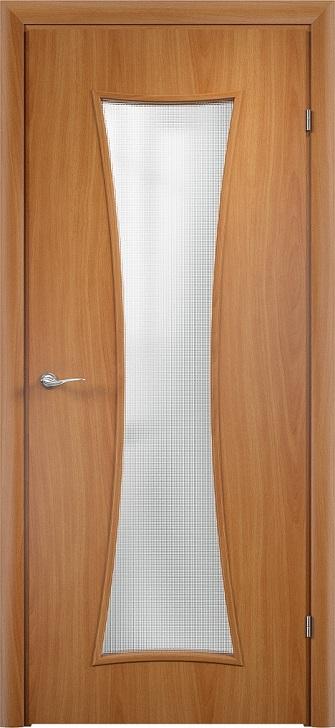 Дверь строительная Verda 73 с четвертью в комплекте