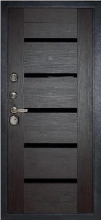 Входная дверь МД 05 темный орех