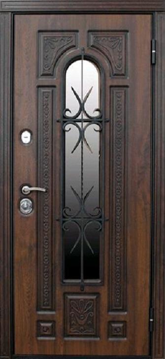 Входная дверь Рим со стеклом