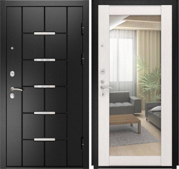 Входная дверь Luxor 14 с зеркалом