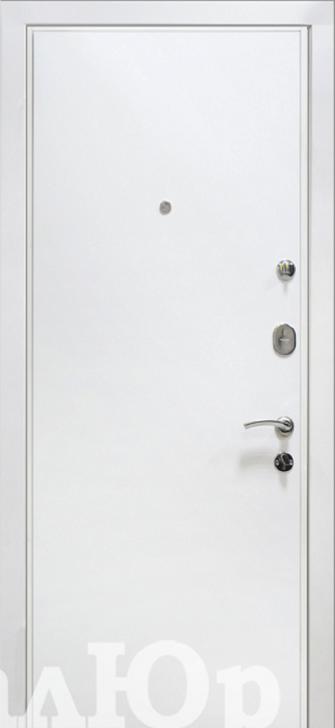 Входная дверь МеталЮр М10 белый