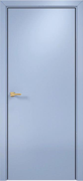 Дверь гладкая в эмали