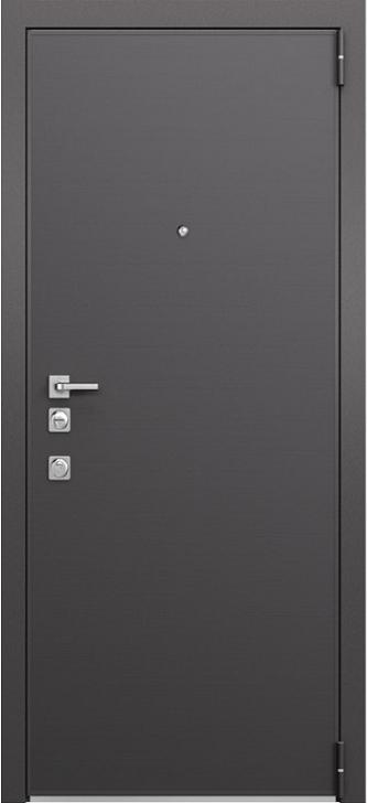 Входная дверь Mastino Forte Реалвуд графит MS-100
