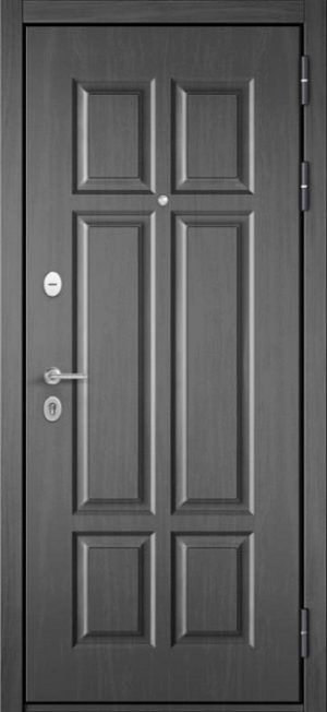 Входная дверь Бульдорс Mass-90 бетон темный 9S-109