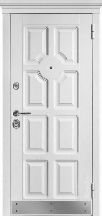 Входная дверь М707 (хром) с капителью