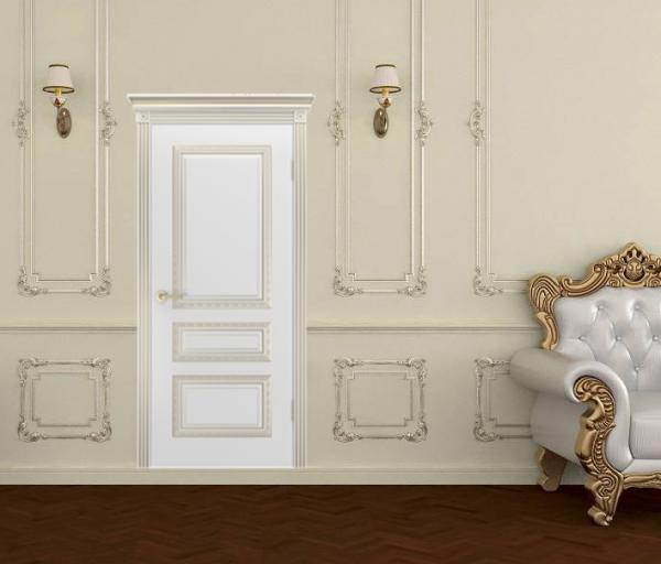 Межкомнатная дверь Трио Корона В1