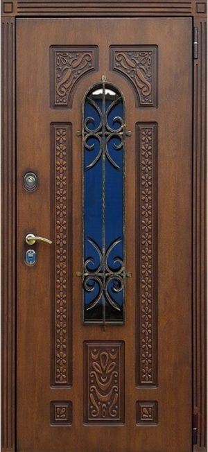 Входная дверь Лацио с ковкой